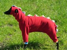 dinosaur sleepsuit whippet greyhound fancy dress +free gift fleece coat