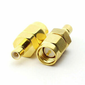 SMA Male to SMB Male straight plug  RF connector adapter  - UK Seller