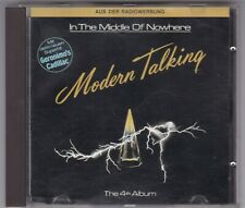 MODERN TALKING - IN THE MIDDLE OF NOWHERE - THE 4th ALBUM - BLACK FACE © 1986