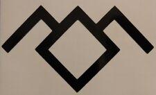 Twin Peaks Black Lodge Symbol Vinyl Sticker Decal choose size/color