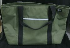 Jack Spade Tote - Olive green with zipper and reflective strips