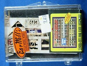 Bar Mills 99061 Erie West MD Lackawanna Billboard N HO Scale Laser Cut Wood Kit