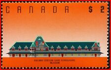 Canada Stamp Mint #1182 - Definitive - McAdam Railway Station ($2) (1989)