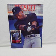 BO JACKSON COVER BECKETT BASEBALL CARD PRICE GUIDE NOV 1991 ISSUE #80 (#5,10)