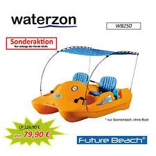 Sonnendach blau (Bemini Top) WB250, für Water Bee WB200-202 Tretboote