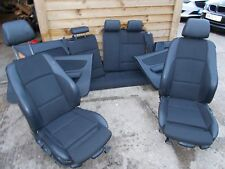 BMW 1 SERIES E812008 FULL INTERIOR HALF LEATHER INCLUDING DOOR CARDS