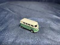 Vintage Tiny Micro Mini Diecast Volkswagen VW Micro Bus Camper