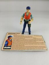 Gi Joe Cutter Hovercraft Pilot With File Card
