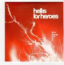 (FA324) Hell Is For Heroes, You Drove Me To It - 2001 DJ CD