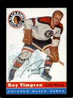 1954 TOPPS #13 RAY TIMGREN VG+ CREASES NICELY CENTERED *CG1658