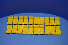 Lego 20 x placa 2x4 guardabarro amarillo   Yellow Wheel case mudguard 3788