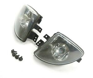 11-13 BMW 528i 535i 550i (F10) FRONT LEFT & RIGHT FOG LIGHT DRIVING LAMP SET-2