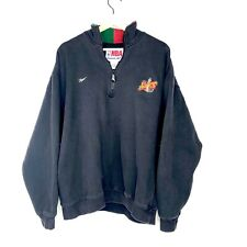 Vintage Seattle Supersonics NBA Reebok Pullover 1/4 Zip Size Large Embroidered