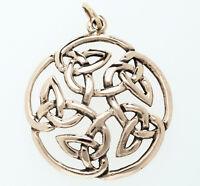 Caylin Keltische Lebensblume Anhänger Bronze Gothic Schmuck - NEU