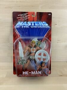 He Man Mattel Masters of the Universe Action Figure New Sealed