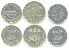 Siria/Syria - 5 + 10 + 25 pounds 2003 UNC-frase de 3 monedas