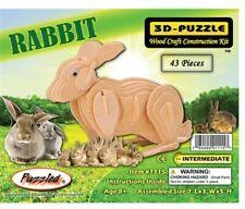 Holzbausatz Kaninchen - 3D Puzzle