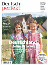 Deutsch perfekt, Heft August 08/2016:Deutschland deine Provinz  +++ wie neu +++