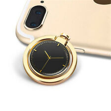 Hot Mobile Phone Holder Watch Shape Metal Finger Ring Stand Holder Phone Bracket