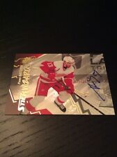 2015-16 Upper Deck SPX Stick Wizards Auto Pavel Datsyuk Red Wings! #82