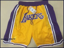 Short Los Angeles Lakers Yellow Sewn
