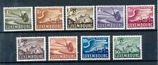 TIMBRE STAMP ZEGEL LUXEMBOURG  POSTE AERIENNE  PA 7-15  XX