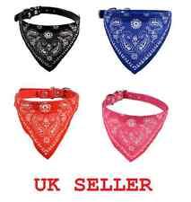 Dog Cat Bandana Accessories Adjustable Necktie Collar UK Bowtie Pet Bow tie New