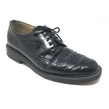 Men's VINTAGE Aldo Oxfords Dress Shoes Size 11 US/44 EU Black Wingtip Brogue I9