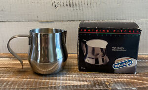 DeLonghi 10 fl oz Milk Frothing Pitcher Stainless Steel in Box
