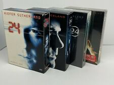 24 Complete Seasons 1-4 - 3 and 4 are NEW Kiefer Sutherland
