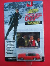"""JOHNNY LIGHTNING JAMES BOND 007 """"ON HER MAJESTY'S SECRET SERVICE"""" 1969 MERCURY"""