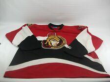 Ottawa Senators Starter 2XL Red Black NHL Hockey Jersey