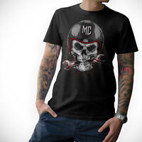 BIKER T-Shirt - SKULL - Motorrad Schrauber Totenkopf MC S M L XL XXL 3XL 4XL 5XL
