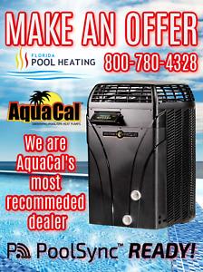 AquaCal SQ145 Swimming Pool & Spa Heater
