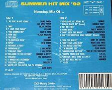 Summer Hit Mix '92 (by Fenslau) Third Party, Salt'n'Pepa, U96.. [2 CD]