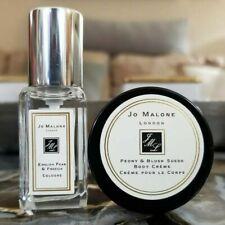 Jo Malone English Pear & Freesia Cologne & Peony & Blush Suede Body Crème - New