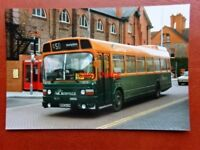 PHOTO  CROSVILLE LEYLAND NATIONAL 1151 BUS NO ENL 845 AT CHESTER 1987