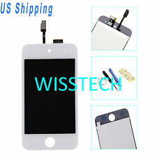 White LCD Display + Touch Screen Digitizer Assembly For iPod Touch 4th Gen +Tool