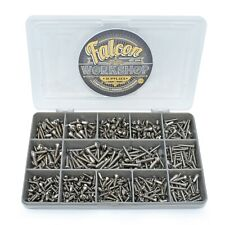 600 ASSORTED POZI RAISED COUNTERSUNK A2 STAINLESS STEEL SELF TAPPING SCREWS