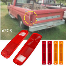 Genuine Tail Light Replace w/ Side Fender Kit 6Pack For 73-79 FORD F150/250 E150