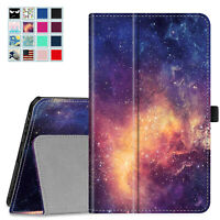 """For Samsung Galaxy Tab A 8.0"""" 2019 SM-T290/T295 Folio Smart Stand Case Cover"""