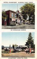 PC Hotel Champigny, Cabins Gas Station in Champigny Lorette Quebec Canada~125476
