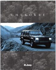 Jeep Cherokee 1995 UK Market Sales Brochure Sport LE Limited SE 2.5 4.0 TD