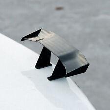 Mini Spoiler Car Rear Tail Decoration Spoiler Wing Black Carbon Fiber Universal