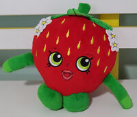 SHOPKINS SWEET STRAWBERRY PLUSH TOY! SOFT TOY APPROX 14CM TALL KIDS TOY!