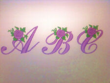 Hermano Rose Alfabeto Embroidery Designs Para Hermano Máquina.. Pes... Cd