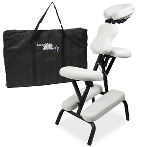 Tattoo Chair Massage Stool Portable Reiki Adjustable Folding Beauty Salon Facial