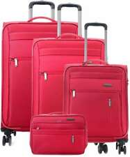 Travelite Reise Capri 4 Rollen Trolley Koffer Set 55 66 76 S M L Blau Rot Schwar