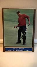 "TIGER WOODS Authentic 1997 The Masters Winner Framed Photo – Size: 12"" X 8"""