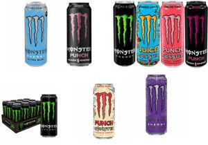 Monster Energy Multi Varieties (12x500ML)ginger monarch